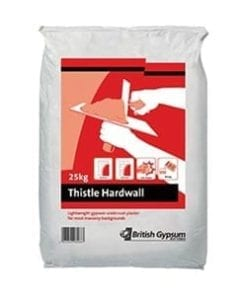 tthistle hardwall plaster 25kg