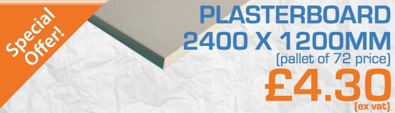 Plasterboard Special Offer