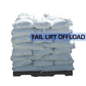 Brown Rock Salt Pallet