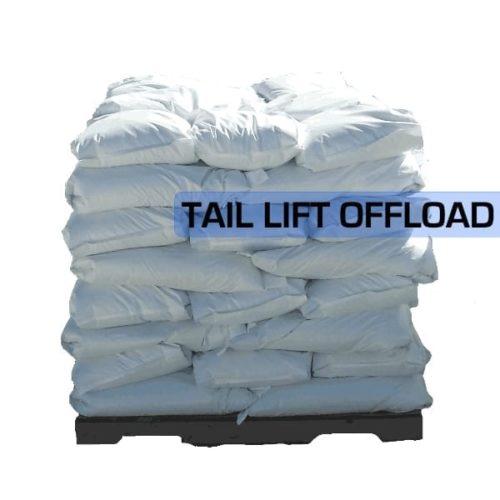 White Rock Salt 25kg Pallet 40 Building Shop
