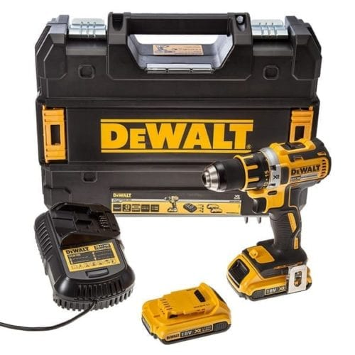 Dewalt Dcd790d2 18v Xr Brushless Compact Lithium Ion Drill