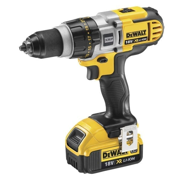 dewalt dcd980m2 18v xr li ion cordless premium 3 speed xrp drill driver 2 x 4ah batteries. Black Bedroom Furniture Sets. Home Design Ideas