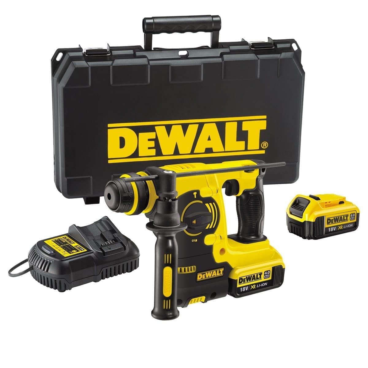 dewalt dch253m2 18v xr li ion sds rotary hammer drill 2. Black Bedroom Furniture Sets. Home Design Ideas