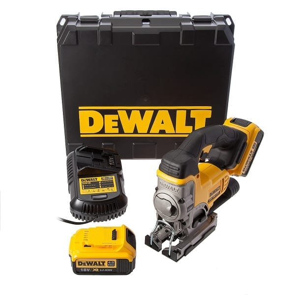 dewalt dcs331m2 18v xr li ion jigsaw 2 x 4ah batteries building shop. Black Bedroom Furniture Sets. Home Design Ideas