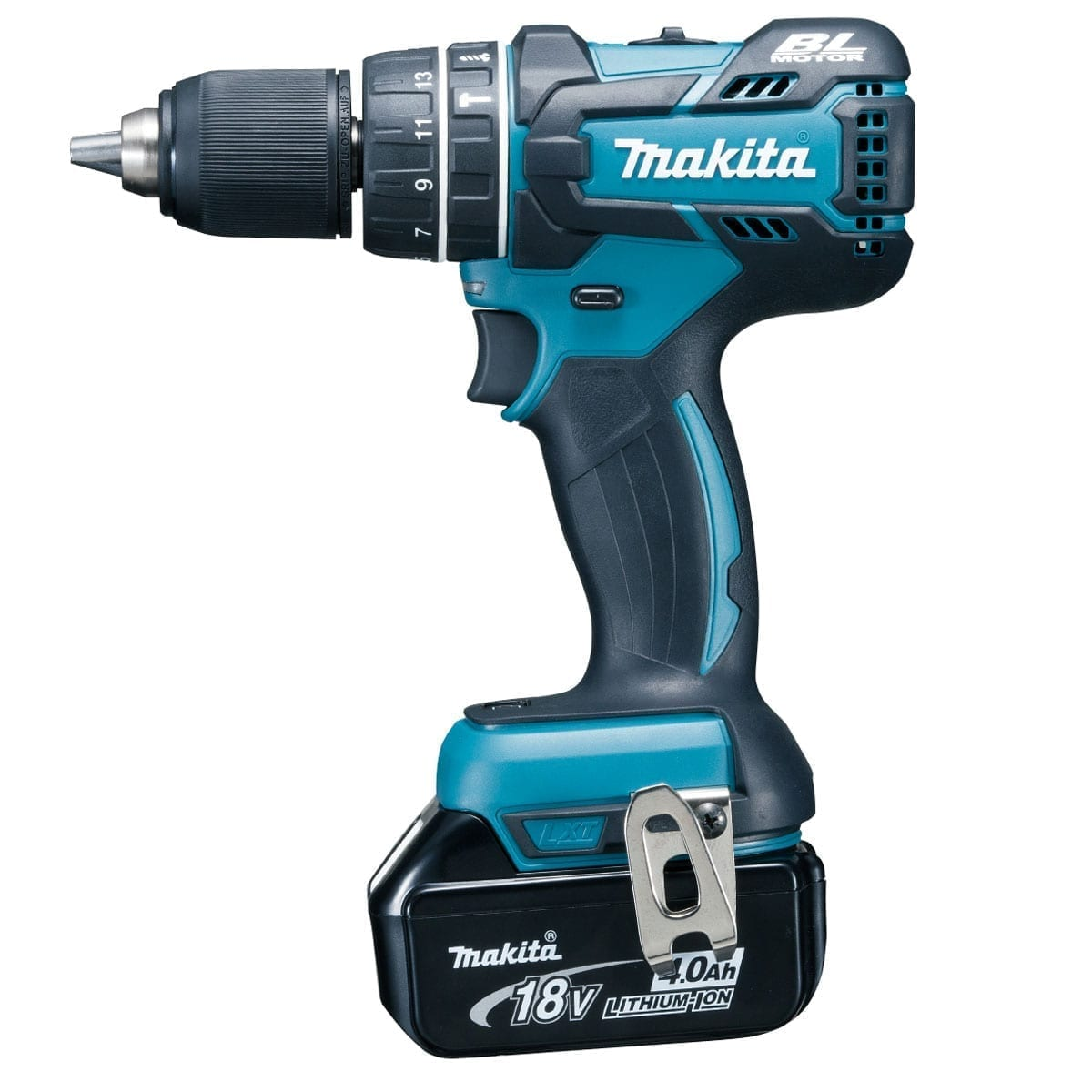 makita dhp480rmj 18v cordless li ion brushless combi drill 2 x 4ah batteries building shop. Black Bedroom Furniture Sets. Home Design Ideas