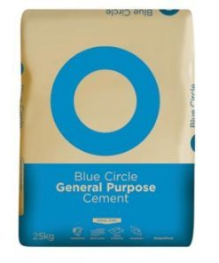 Pallet of Blue Circle Cement